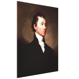 Porträt Präsidenten-JAMES MONROE durch Samuel Galerie Falt Leinwand