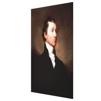 Porträt Präsidenten-JAMES MONROE durch Samuel Leinwanddruck