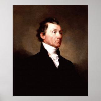 Porträt Präsidenten-JAMES MONROE durch Samuel Poster
