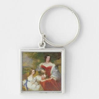 Porträt T32011 von Frau Sarah Frances Cooper und Schlüsselanhänger