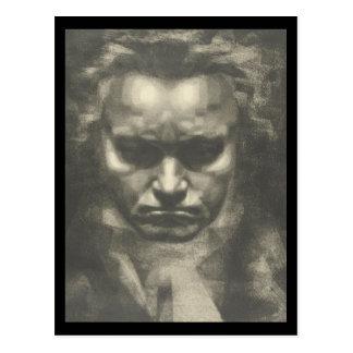 Porträt Vans Beethoven Postkarte