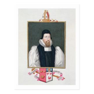 Porträt von (1500-81) Bischof Richard Cox Ely Postkarte