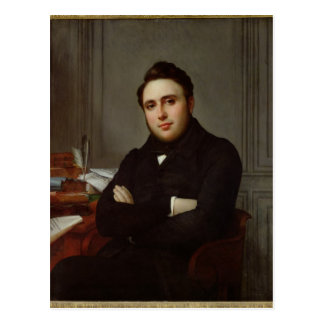 Porträt von Alexandre Auguste Ledru-Rollin Postkarte