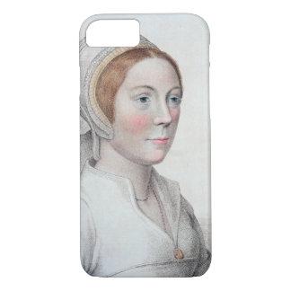 Porträt von Catherine Howard (1520-42) vorbei iPhone 8/7 Hülle
