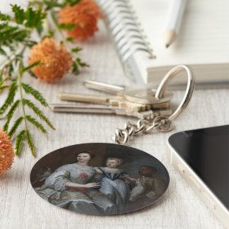 Porträt von Dame Grace Carteret Schlüsselanhänger