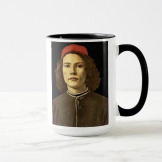 """""""Porträt von einem jungen Man Tasse"""