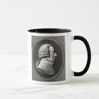 Porträt von einem Medaillon von Adam-Smith Tasse