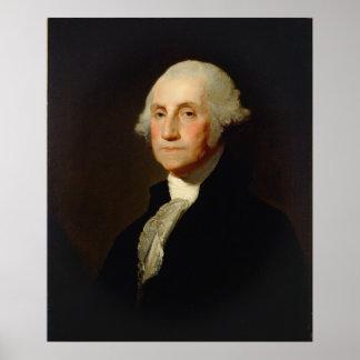Porträt von George Washington Gilbert Stuart Poster