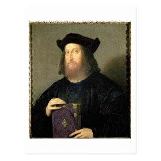 Porträt von Gian Giorgio Trissino (1478-1550) (Öl Postkarte