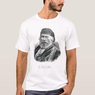 Porträt von Giuseppe Garibaldi T-Shirt