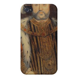 Porträt von Henry VIII iPhone 4 Hülle