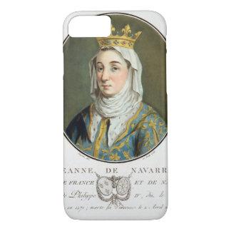 Porträt von Jeanne De Navarra (1271-1304), 1788 (c iPhone 8/7 Hülle