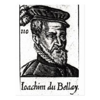 Porträt von Joachim du Bellay Postkarte