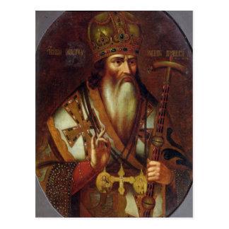 Porträt von Joachim, Patriarch von Moskau Postkarte