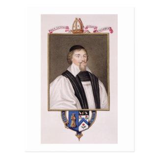 Porträt von John-Juwel-(1522-71) Bischof Salisbu Postkarte