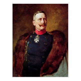 Porträt von Kaiser Wilhelm Ii Postkarte