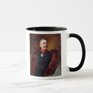 Porträt von Kaiser Wilhelm Ii Tasse