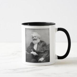 Porträt von Karl Marx Tasse