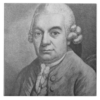Porträt von Karl Philipp Emanuel Bach (1714-88) (e Große Quadratische Fliese - portrat_von_karl_philipp_emanuel_bach_1714_88_e_grosse_quadratische_fliese-r4a6c0acbceda4ee88b3f91b9cded7298_agtbm_8byvr_324