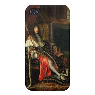 Porträt von Louis XIV 1668 iPhone 4 Case