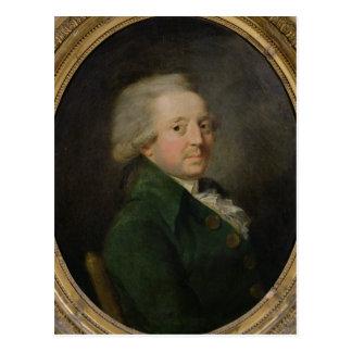 Porträt von Marie-Jean-Antoine-Nicolas Postkarte