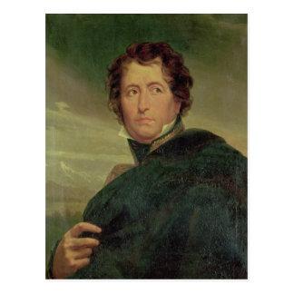 Porträt von Marshal Jean de Dieu Nicolas Soult Postkarte