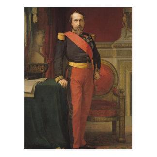 Porträt von Napoleon III 1862 Postkarte