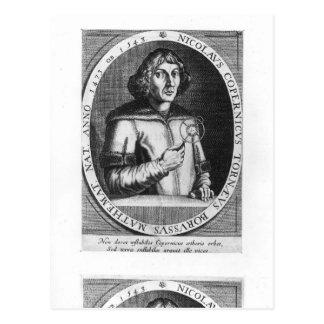 Porträt von Nicolas Kopernikus Postkarte