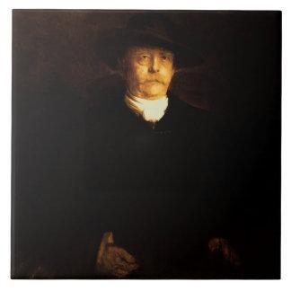 Porträt von Otto von Bismarck (1815-98) (Öl auf PA Fliese