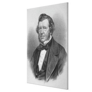 Porträt von Samuel-Liebhaber Leinwanddruck