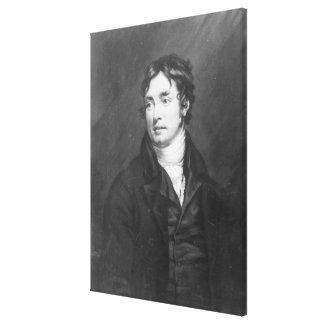 Porträt von Samuel Taylor Coleridge Leinwanddruck
