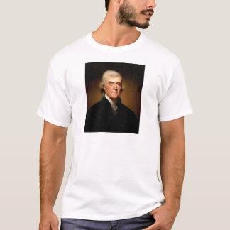 Porträt von Thomas Jefferson durch Rembrandt Peale T-Shirt