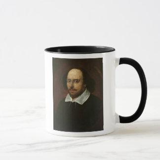 Porträt von William Shakespeare c.1610 Tasse