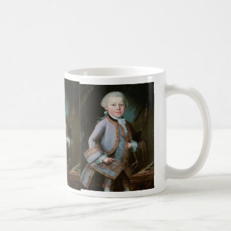 Porträt von Wolfgang Amadeus Mozart Kaffeetasse
