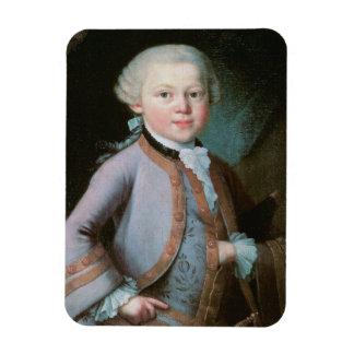 Porträt von Wolfgang Amadeus Mozart Magnet