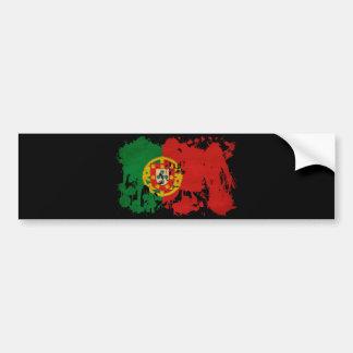 Portugal-Flagge Autoaufkleber