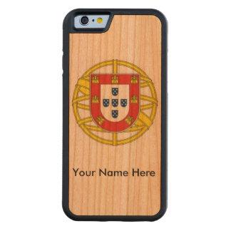 Portugal-KirscheWood* iPhone 6 Abdeckung Bumper iPhone 6 Hülle Kirsche