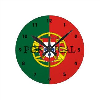 Portugal Runde Wanduhr