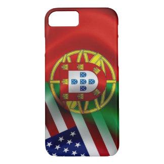 Portugal/USA Flagge Iphone iPhone 8/7 Hülle