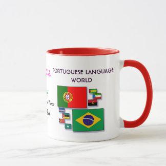 Portugiesische SprachweltTasse Tasse