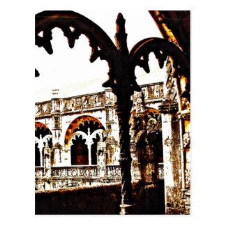 Portugiesisches Kloster - Mosteiro DOS Jeronimos Postkarte