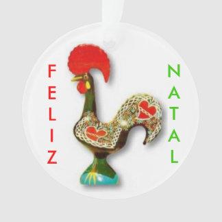 Portuguese* Hahn-Weihnachtsverzierung Ornament