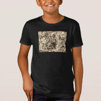 Poseidon an der SeeWeltkarte T-Shirt