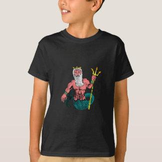 Poseidon, griechischer Gott des Meeres, das T-Shirt