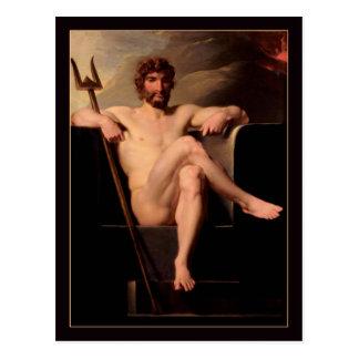 Poseidon inthronisierte durch Heinrich Fuger Postkarte