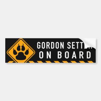 Poseur de Gordon à bord Autocollant De Voiture