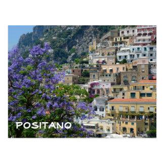 Positano, Italien Postkarte