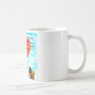 Positive Bestätigungen Kaffeetasse