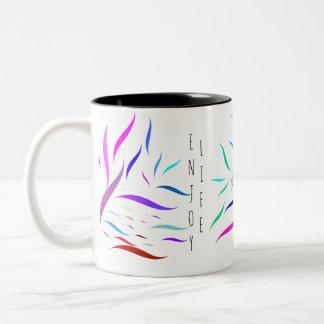 Positive Farben Zweifarbige Tasse