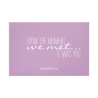 Positive Motivations-Hochzeits-Plakat-Minze und Gespannter Galeriedruck